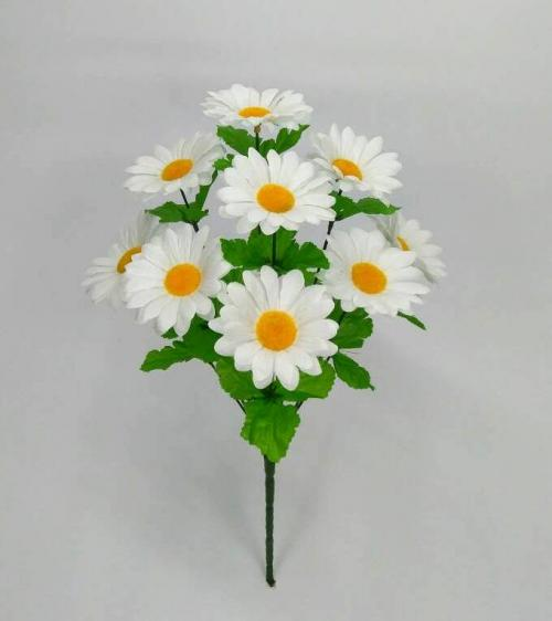 Искуственные цветы romashka-belaya-10-ka 854