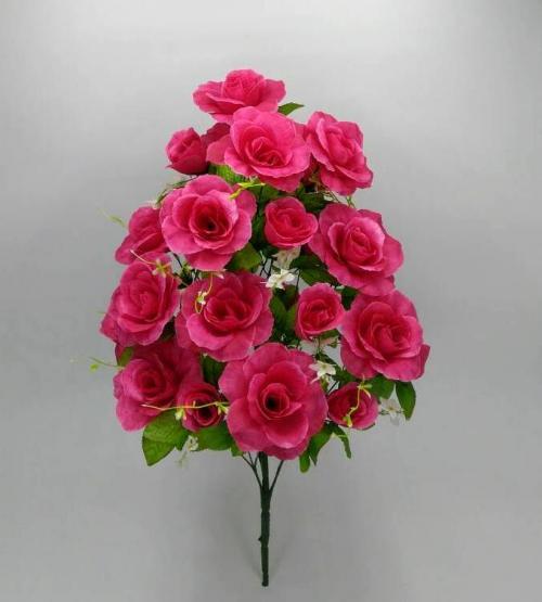 Искуственные цветы roza---buton-24-ka 855