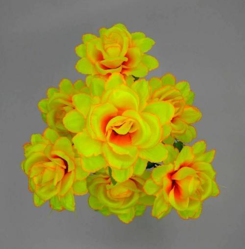 Искуственные цветы roza-kitajka-7-ka 869