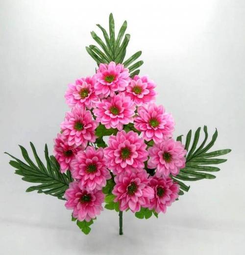 Искуственные цветы georgina-paporot