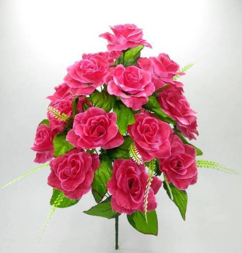Искуственные цветы roza-18-ka-n 879