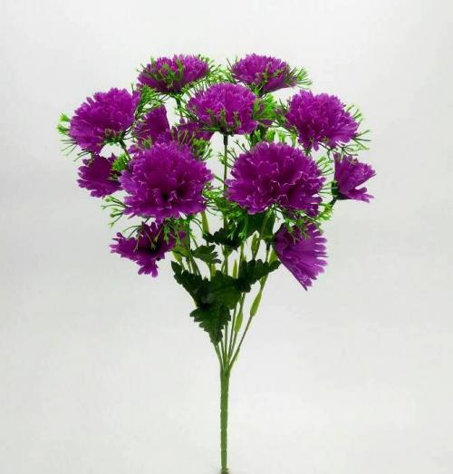 Искуственные цветы Гвоздика с детками 885