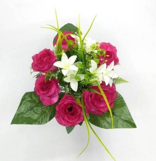 Искуственные цветы dekor-roza-6-ka 896