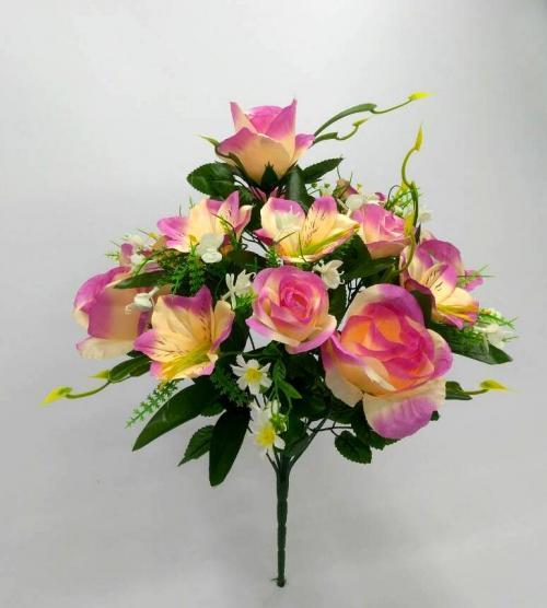 Искуственные цветы Декор роза - лилия 13-ка 899