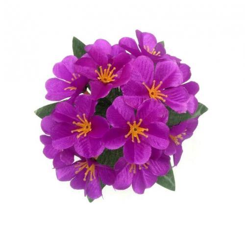 Искуственные цветы Фиалка 12-ка (з-ка) 902