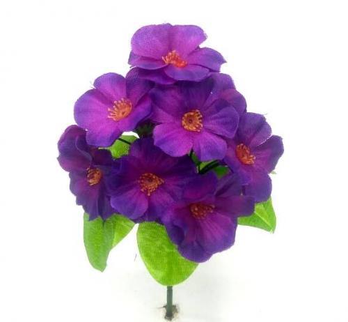 Искуственные цветы Фиалка 2 слоя 14-ка 903