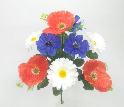 Искуственные цветы Полевой 10-ка 904