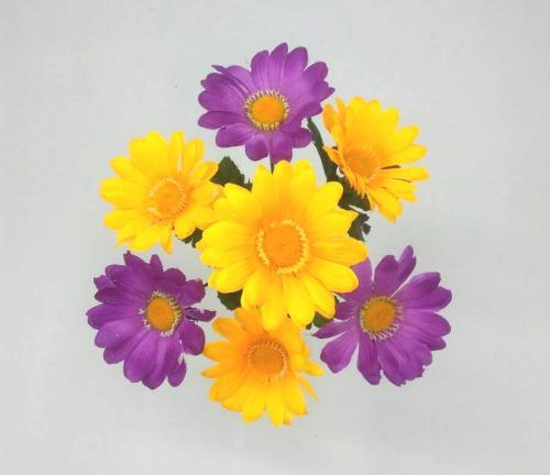 Искуственные цветы Ромашка микс 7-ка 906