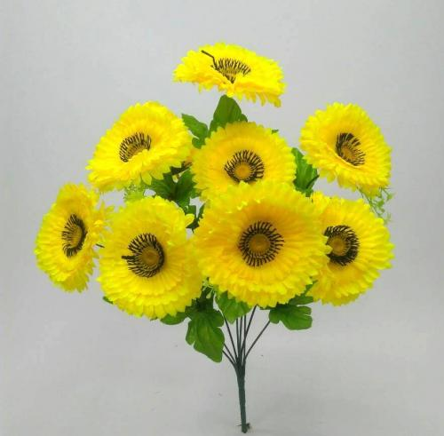 Искуственные цветы margaritka-9-ka-st 908