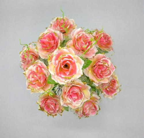 Искуственные цветы roza-fatin-12-ka 909