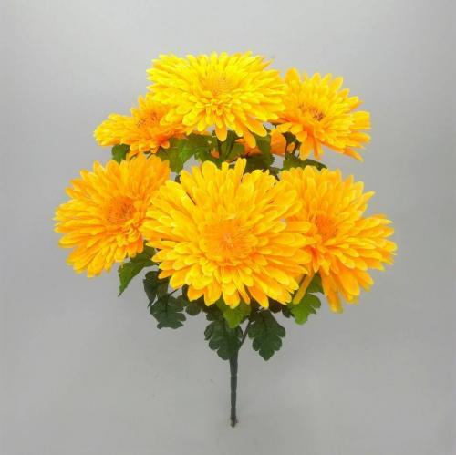 Искуственные цветы Астра крупная 7-ка 910