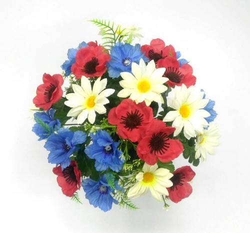 Искуственные цветы Полевой 24 гол 916