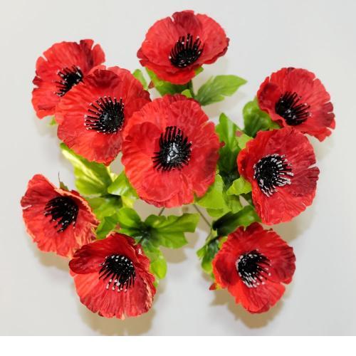 Искуственные цветы mak-9-ka 925