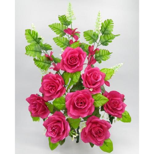 Искуственные цветы roza-ne-press-odnostoronka 927