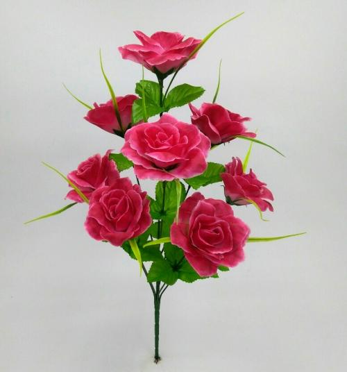 Искуственные цветы Роза 9-ка М 936