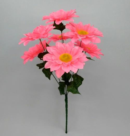 Искуственные цветы Ромашка цветная 7-ка Н 941