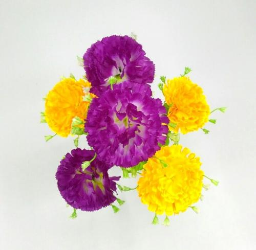 Искуственные цветы gvozdika-miks-ne-pres 951