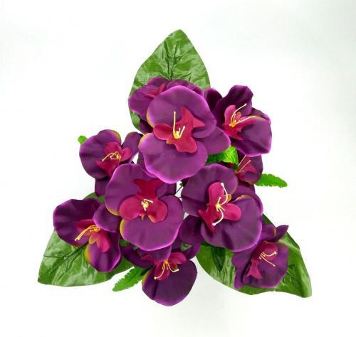 Искуственные цветы orhideya-10-ka-list 952