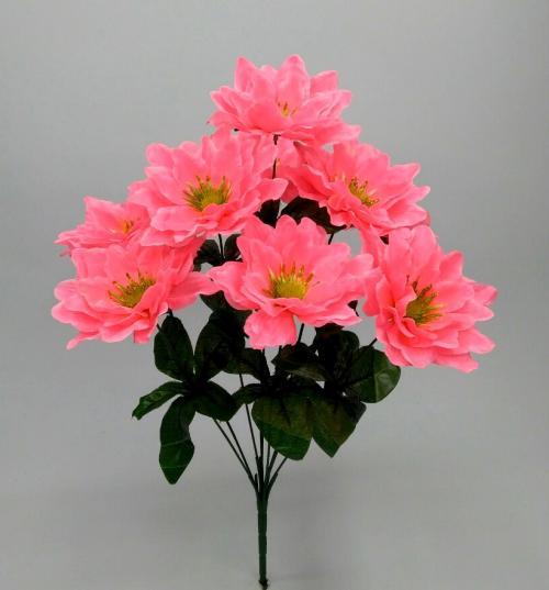 Искуственные цветы mak-zoloto-9-ka