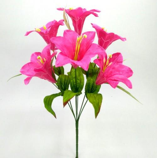 Искуственные цветы liliya-ne-pressovka-7-ka 963