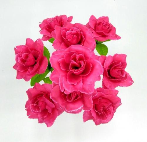Искуственные цветы rozochka-9-ka-stn