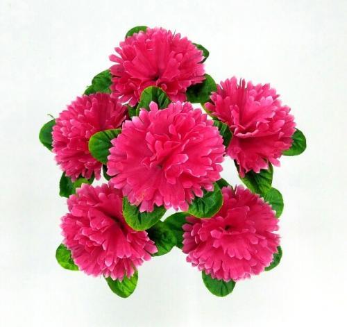 Искуственные цветы gvozdika-list-6-ka-stn 966