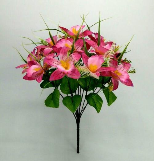 Искуственные цветы iris-14-ka-stn