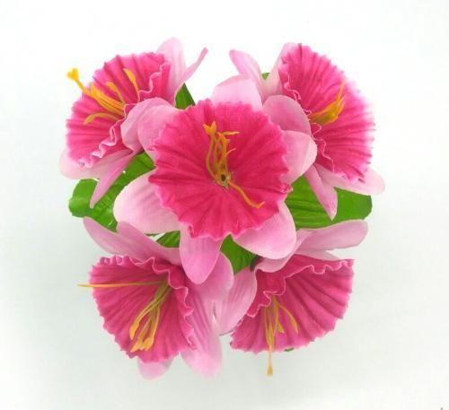 Искуственные цветы narciss-5-ka-zalivka 973