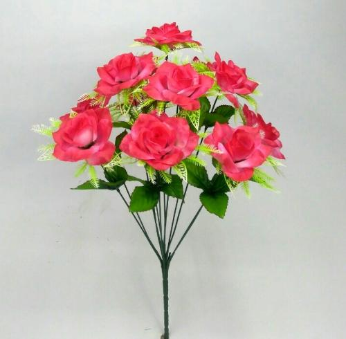 Искуственные цветы roza-korzinka-12-ka-stn 997