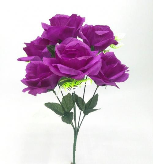 Искуственные цветы Розочка 7-ка СТН 998