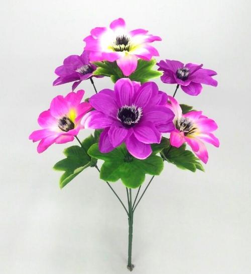 Искуственные цветы Крокус микс 6-ка Н 999